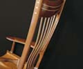 Bentwood Rocker Detail